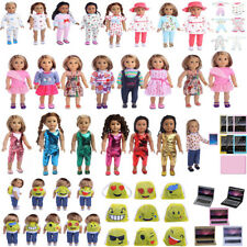 "Doll Clothes Pajames Dress for 18"" American Girl Our Generation My Life Doll"