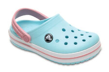 SANDALI BAMBINI/JUNIOR SNEAKERS CROCS CROCBAND CLOG [204537 ICE BLUE/WHITE]
