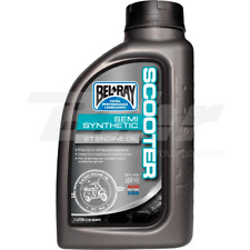 ENVÍO GRATIS BOTELLA 1 L ACEITE BEL-RAY MOTOR 2T SCOOTER SEMI-SYNTHETIC, MOTO