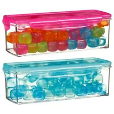 Reusable Plastic Ice Cubes Multicolored Cold Drinks Bar BBQ Perfect For Parties