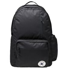 New Mens Converse Black Poly Go Polyester Backpack Backpacks