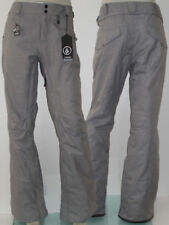 "Volcom ""BIRCH"" Womens Insulated Snowboard Ski Pant Gr. L Heather Grey Neu: 180€"