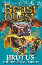 Beast quest: Brutus the hound of horror by Adam Blade (Paperback)