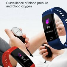 Hot Y5 Heart Rate Monitor Smart Bracelet Blood Pressure Activity Tracker Band