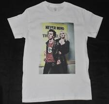 Sid Vicious and Nancy White T-Shirt S-3XL retro the sex pistols punk rock