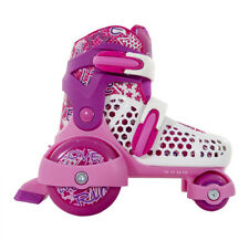 SFR - STOMPER REGOLABILE BAMBINI SKATE - ROSA- Junior Quad Pattini a rotelle