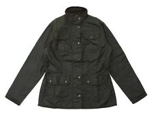 Barbour Ladies Utility Wax Jacket in Olive