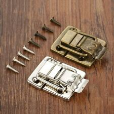 Retro Jewelry Box Chest Suitcase Clip Toggle Latch Catch Hasp Trinket Hardware