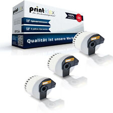 3x ALTERNATIVA Rotolo Etichette per Brother DKN55224 LABEL - UFFICIO Plus Serie
