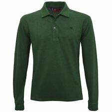 ROBE DI KAPPA polo UOMO mc.lunga ROLDEN CO WOOL misto lana Aut/Inv verde X8Dedut