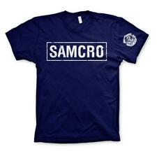OFFICIAL SAMCRO T-SHIRT FRONT & ARM REAPER - SOA SONS OF ANARCHY REDWOOD 1967