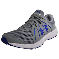 Under Armour Dash Run 2 Men's Running Shoes Fitness Gym Trainers Grey Blue