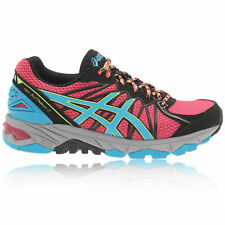 Asics Womens Gel-Fuji Trabuco 3 Pink Blue Support Trail Running Trainers Shoes