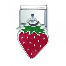 Nomination Italy Nominations Silver Pendant Strawberry Charm Tool