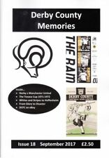 Derby County Memories magazine - back copies issues 2-19