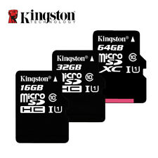 Kingston Class 10 Micro SD Card 16 GB 32 GB 64 GB 128 GB 256 GB di Memoria