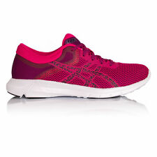 Asics Nitrofuze 2 Femmes Rose Amorti Running Route Chaussures De Sport Baskets