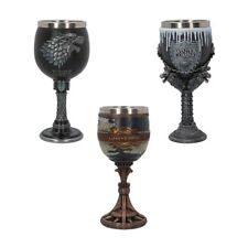 Game Of Thrones - Sigil Goblet / Wine Glass - New & Official HBO / Nemesis Now