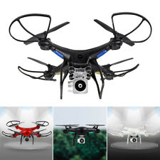 Wifi Drone Quadcopter Camera Remote Control Airplane Helicopter Flying Toys Gift