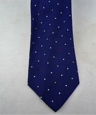 Paul Smith Blue & White Dotted Tie Brand New With Paul Smith Tags Made In Italy