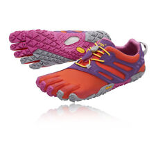 Vibram Womens FiveFingers V-Trail Running Shoes Trainers Sneakers Pink Red