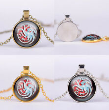 Game of Thrones Jewellery Targaryen Dragon Glow in the Dark Pendant Necklace