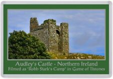 Audley's Castle Fridge Magnet, Game of Thrones Filming Location (A01)