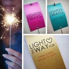 Free Bonus with Personalised Wedding Sparkler Tags  S-1