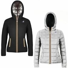 K-WAY Imbottita reverse giacca DONNA CAPPUCCIO KWAY LILY THERMO PLUS DOUBLE 994x