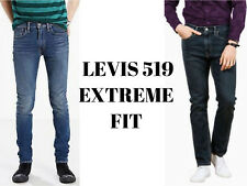 LEVIS 519 Men's Extreme Skinny Fit Jeans Brand New Original
