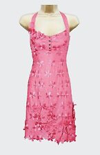 New KAREN MILLEN Daisy Applique BNWT £160 Floral Cotton Party Evening Dress SALE