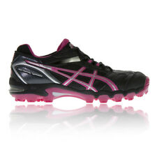Asics Donna GEL-HOCKEY TYPHOON Scarpe da Hockey Ginnastica Sport Terreno Nero