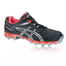 Asics Donna LADY GEL-HOCKEY TYPHOON Scarpe da Hockey Ginnastica Sport Nero