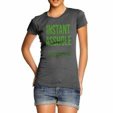 Funny Gifts For Women Instant Asshole Add Beer Women's T-Shirt