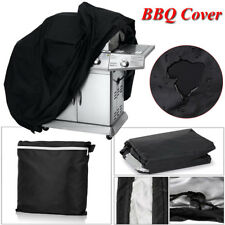 "BBQ Grill Cover 58"" 64"" 70"" 72"" Gas Barbecue Heavy Gas Barbecue Heavy Gas Black"
