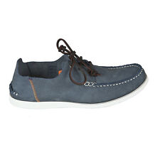 Paul Smith mocassin en daim lacée, noemy nubuck mocassins en jeans