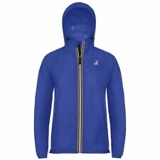 K-WAY LE VRAI 3.0 CLAUDETTE GIACCA DONNA CAPPUCCIO KWAY Blu Royal New News 618ly