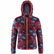 K-WAY giacca Lana COTTA DONNA CAPPUCCIO LILY WOOL FELTED Zip Aut/Inv KWAY 909tyv