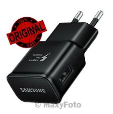 SAMSUNG CARICABATTERIE ORIGINALE USB 10W EP-TA20EBE FAST CHARGING NERO 000016A