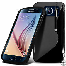 S Line Wave Custodia cover sottile in gel & Penna stilo per Samsung Galaxy