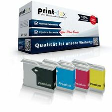 4x alternativo CARTUCCE PER PULIZIA BROTHER LC970/LC1000 xxl-office Plus Serie