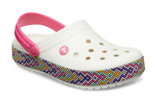 SANDALI DONNA SNEAKERS CROCS CROCBAND GALLERY CLOG [205166 OYSTER]