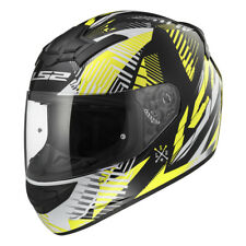 LS2 FF352 ROOKIE Infinite AMARILLO Casco Integral Motocicleta ACCIDENTE
