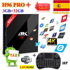 H96 PRO+ Plus TV Box Android 7.1 Amlogic S912 Octa Core 3GB+32GB 4K Media Player