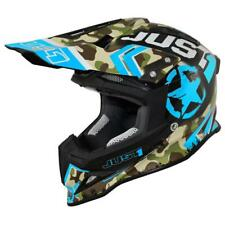 Casco Cross | Enduro JUST1 J12 KOMBAT blue