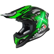 Casco Cross | Enduro JUST1 J12 MISTER X carbon green