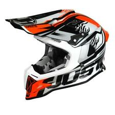 Casco Cross | Enduro JUST1 J12 DOMINATOR white | red
