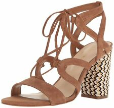 Nine West Womens Bizzy Leather Open Toe Casual Strappy Sandals