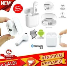 COPPIA AURICOLARI BLUETOOTH CUFFIE WIRELESS MICROFONO per SAMSUNG HUAWEI IPHONE