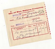 IMR Isle of Man HM Forces tickets, troop movements, salvage, airbases 1870s-1946